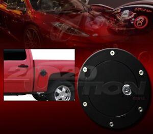 BULLY BLACK ALUMINUM REPLACEMENT GAS FUEL DOOR LOCK FOR DODGE RAM 1500 2500 3500