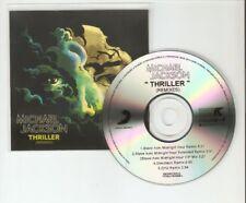 MICHAEL JACKSON - THRILLER - RARE MINT BRAZILIAN 5 TRACK CD PROMO