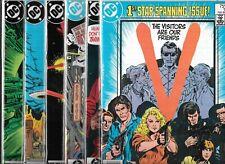 V THE VISITORS #1-#18 SET (VF) HTF COPPER AGE DC TV COMICS