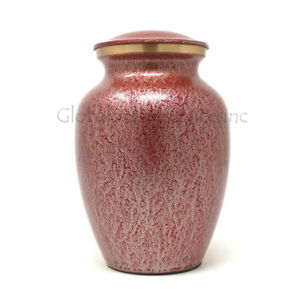 Cremation urn Classy Large Brass for Ashes (Medium)