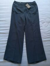 Madeleine Women's Dark Teal Wide Leg Trousers Size 16 New With Tags