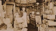 1930's Norman Nichols Dry Good Store Harpersfield NY Photograph Advertising