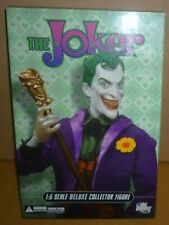 "JOKER DC Direct Deluxe 13"" Action Figure Missing 1 card"