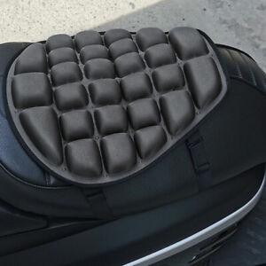 3D Motorcycle Seat Pad Motorbike Cover Universal Comfort Gel Cushion Air