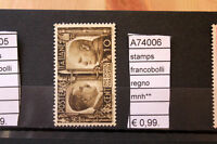 STAMPS FRANCOBOLLI ITALY REGNO NUOVI MNH** (A74006)