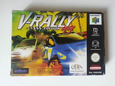 V-Rally Edition 99 [N64] Nintendo 64