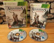 Assassins creed III xbox 360 game
