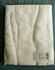 Dip and Doze, The Bath Sheet, Towel,100% Organic Cotton - White - New
