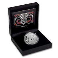 2017- 1 OZ  Silver  Proof Coin-  Legend of Taniwha - Maori Art