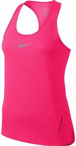 Nike AeroReact Adaptive Breathability Women's Running Tank Top (Pink, M)