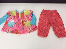 Catimini 2 piece outfit set age 6M/67 mois top bottoms summer filles designer