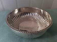 Antique Silver Bowl George III 1811
