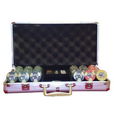 Set completo 300 Fiches Ceramica EPT European Poker Tour Replica 2007 bordi all.