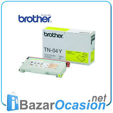 Toner Brother TN-04Y Amarillo Yellow 9420CN HL-2700CN Original Nuevo