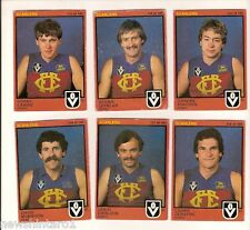 #D72.  11 FITZROY LIONS  1982 SCANLENS VFL FOOTY CARDS