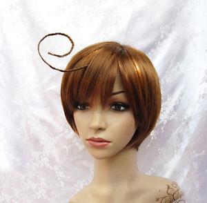 cosplay Axis Powers Hetalia APH South Italy Lovino Vargas wig wigs +gift hairnet