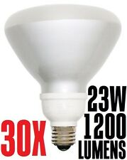 23W CFL R40 Fluorescent Flood Light Bulb SSL23-R40/SW Warm White 2700K Sun&Stars