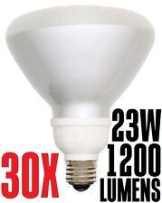 23W CFL R40 Fluorescent Flood Light Bulb SSL23-R40/SW Warm White 2700K Sun&Stars