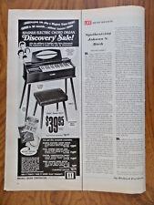 1969 Magnus Electric Chord Organ Ad