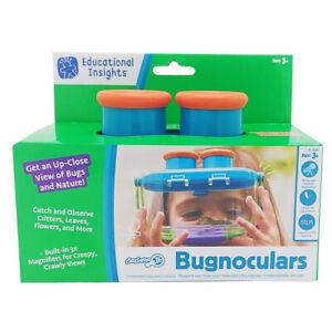 Educational Insights Geosafari Jr Bugnoculars Bug Observation Tool w/ Container