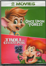 TROLL IN CENTRAL PARK/ONCE UPON A FOREST(DVD, 2018) NEW