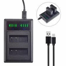 DMW-BLG10 Battery charger for Panasonic Lumix TZ202 TZ91 TZ81 TZ101 GX80 DC-GX9