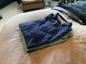Hackett 3x + Lacoste 1x Polo Shirts. Medium