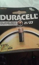 Duracell MN-21B 12V Security Battery DURALOCK DL21 DL23 MN21 A23 21/23  NO-TAX