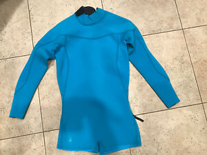 NWT BODY GLOVE 2MM SMOOTHIES BACK ZIP SPRINGSUIT TURQUOISE SUIT 9 10