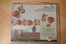 Wallies Susan Winget Fruit Wallpaper Cutouts-Pre Pasted-24-#12974-Pears/Apples