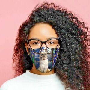 Lisa Parker Hokuspokus Katze Mund - Nasenschutz Stoffmaske,