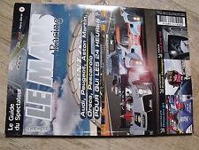$$ Revue Le Mans Racing HS N°6 24h du Mans  Oreca-Aim 01  Franck Montagny  R15