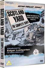 SCOTLAND YARD - THE COMPLETE SERIES - DVD - REGION 2 UK