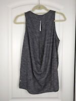 NWT Lululemon LOW KEY TANK *SILVER Size 2 4 6 8 10 Heathered Black HBLK