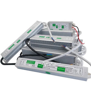 AC230V -DC12V LED Alimentation Étanche Transformateur Pour Ruban LED Bande Strip
