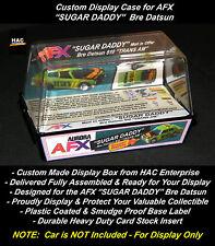 "Custom Display Case AURORA AFX ""SUGAR DADDY"" Datsun (Finally a Box for this Car)"