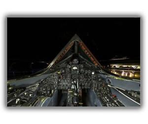 "War Cockpit of SR-71 Blackbird pilots US Air Force Photo Glossy ""4 x 6"" inch C"