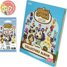 Animal Crossing amiibo Cards Collectors Album -Series 3 (Nintendo 3DS/Wii U) New
