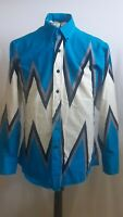 Brooks & Dunn By Panhandle Slim Vintage Western Shirt  Womens Size 15.5-34