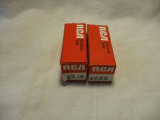 LOT OF 2 VINTAGE RCA ELECTRON TUBES NOS IN BOX HAM RADIO