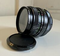 JC Penney Multi Coated Camera Lens 1:2.8 f=28mm MINT Condition With Caps