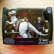 "STAR WARS 6"" BLACK SERIES HAN SOLO AND TAUNTAUN Action Figures Hoth Hasbro boxed"