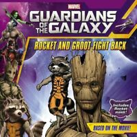 BRAND NEW Book Marvel Guardians of the Galaxy Rocket and Groot Fight Back + Mask