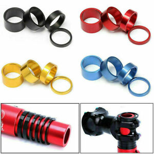 1 Set Bicycle Headset Spacer Mountain Bike Headset Washer Front Stem Fork Spacer