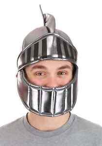 Silver Knight Plush Helmet