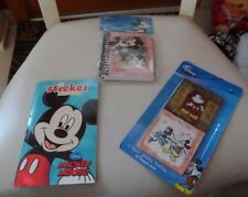 Disney Mickey Mouse - Spiral Journal, color book w/ stickers, stickey notes
