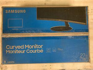 """Samsung T55 27"""" VA LCD Curved Monitor - Dark Blue Gray LC27T550FDNXZA"""