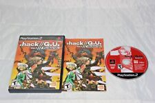 . dot hack G.U. Volume 1 Rebirth PS2 Complete