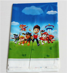 All Themed Kids Birthday Party Game Decorations Cartoons Tablecloth Table cover