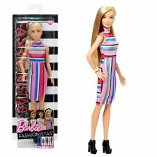 Mattel Dyy98 Barbie Fashionistas - righe colorate